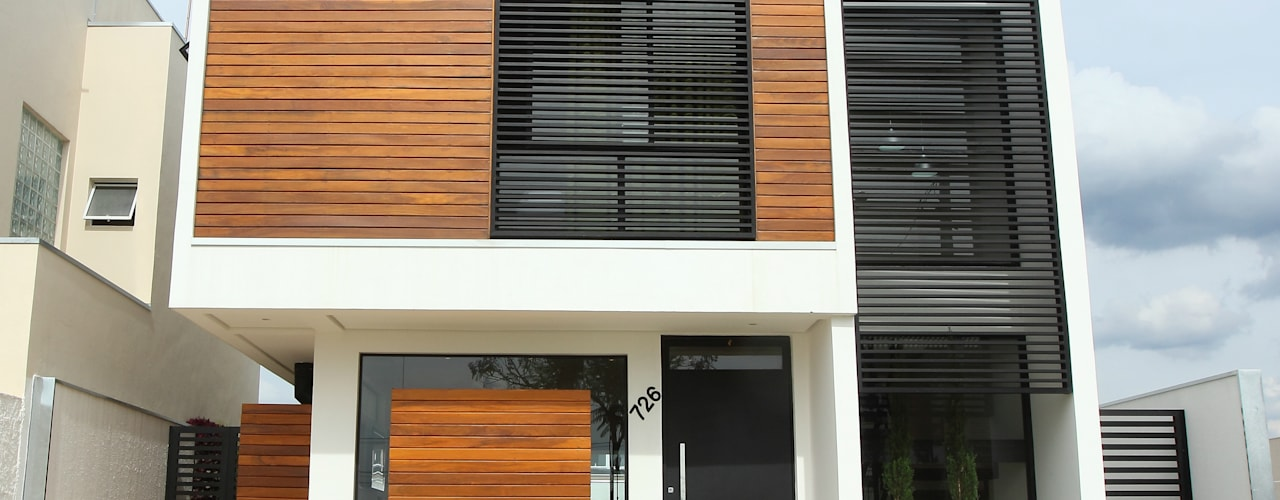 Taguá Arquitetura บ้านและที่อยู่อาศัย ไม้ White