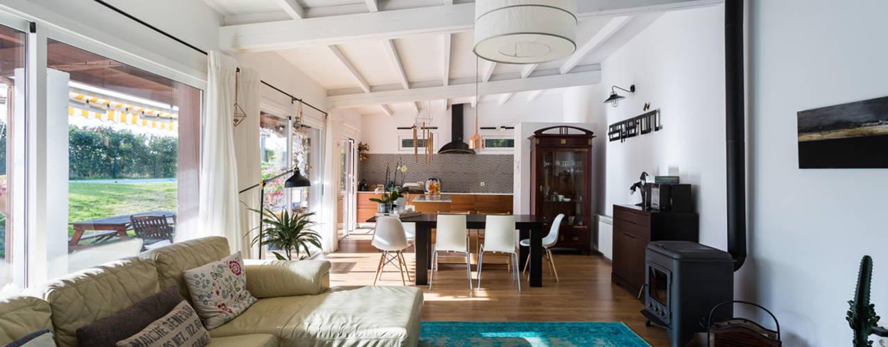 As 15 imagens desta casa r stica e moderna far o voc for Casa moderna rustica