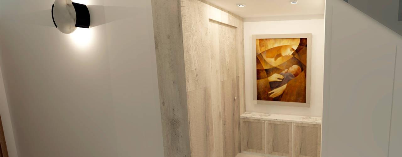Corridor & hallway by TAMEN arquitectura