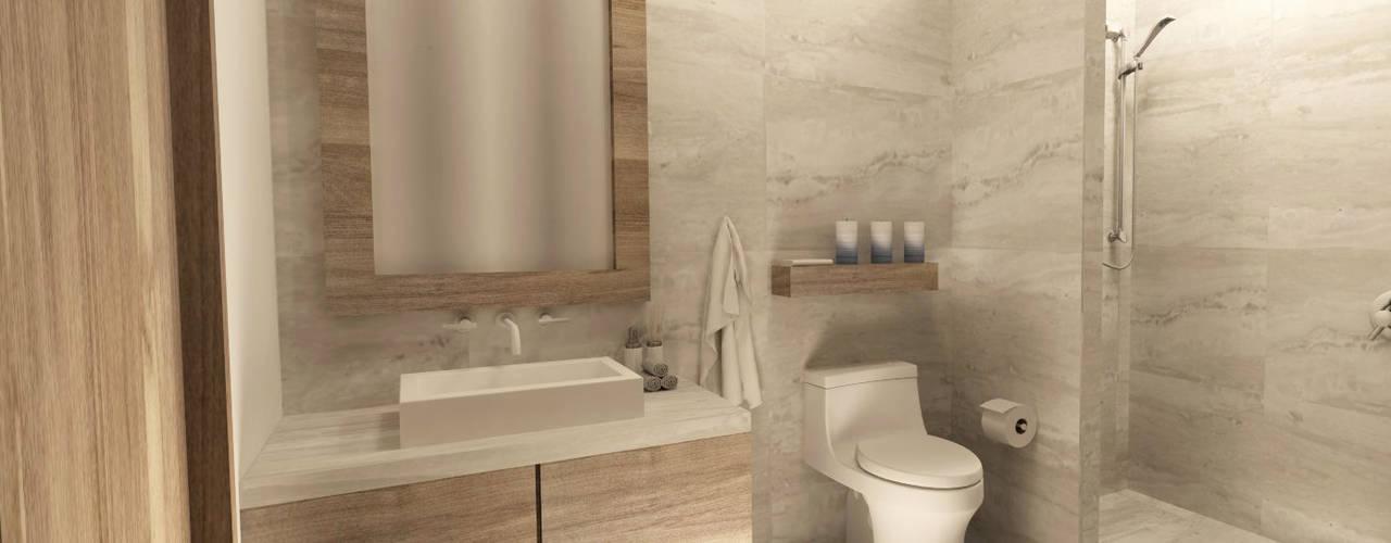 Baños de estilo moderno de TAMEN arquitectura Moderno