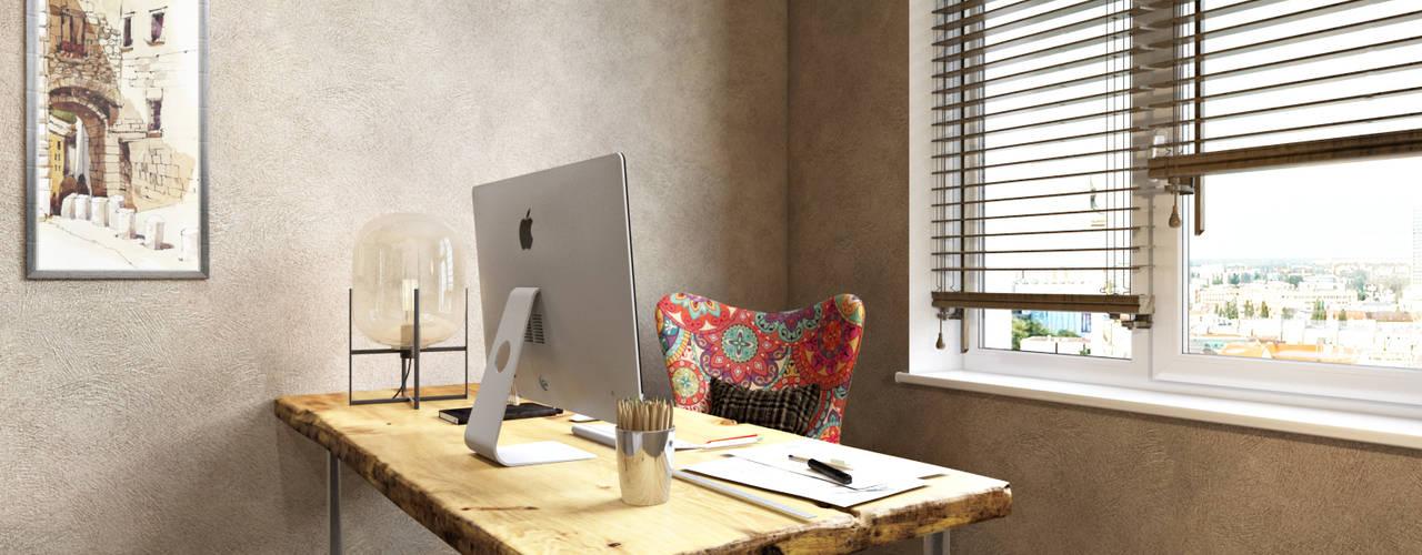 Escritórios e Espaços de trabalho  por homify, Moderno