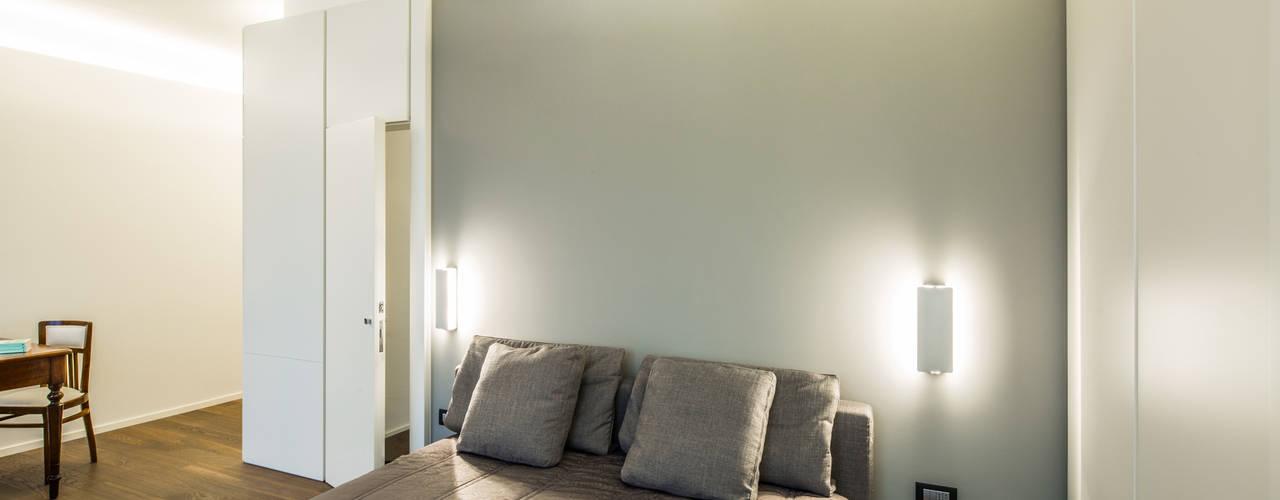 غرفة نوم تنفيذ PLUS ULTRA studio,