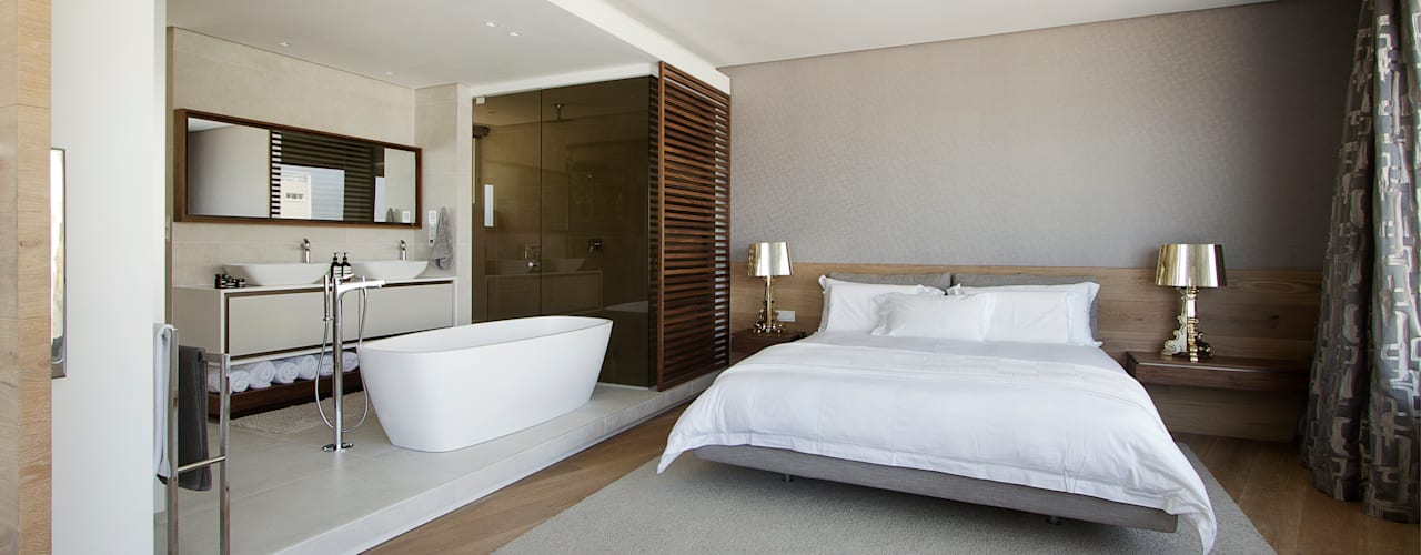 Minimalist bedroom by Make Architects + Interior Studio Minimalist