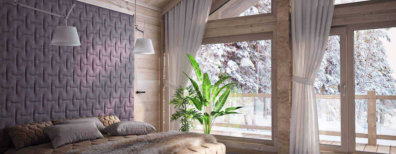 minimalistic Bedroom by премиум интериум