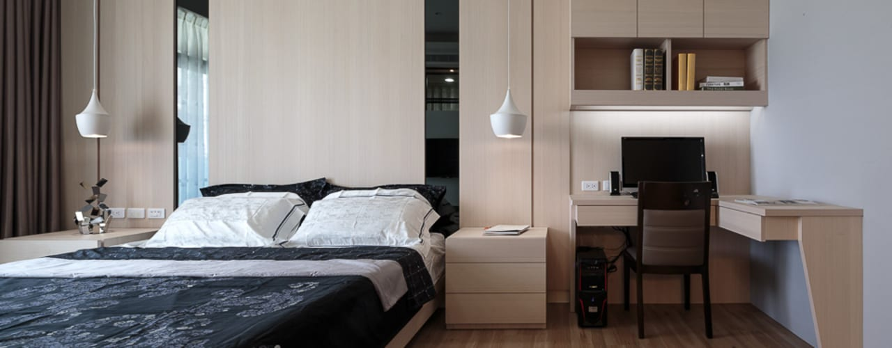 Modern style bedroom by IDR室內設計 Modern