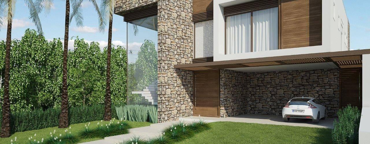 Casas de estilo  por Quitete&Faria Arquitetura e Decoração,