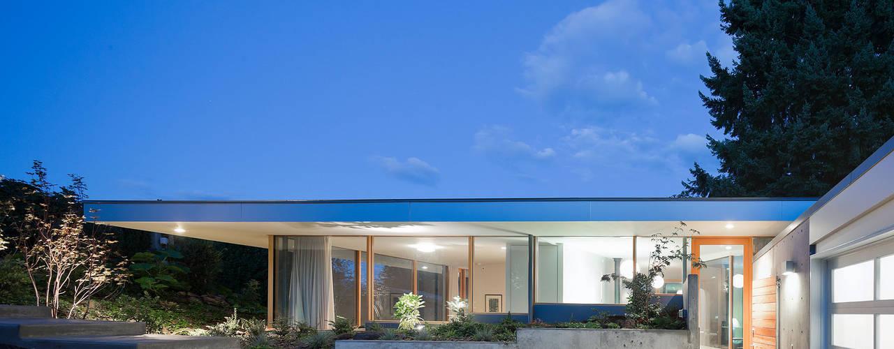 Projekty, nowoczesne Domy zaprojektowane przez NO Architecture