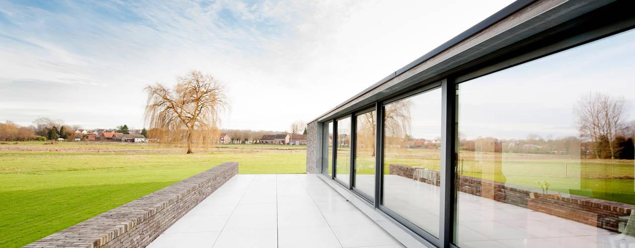 P30 Moderne huizen van das - design en architectuur studio bvba Modern