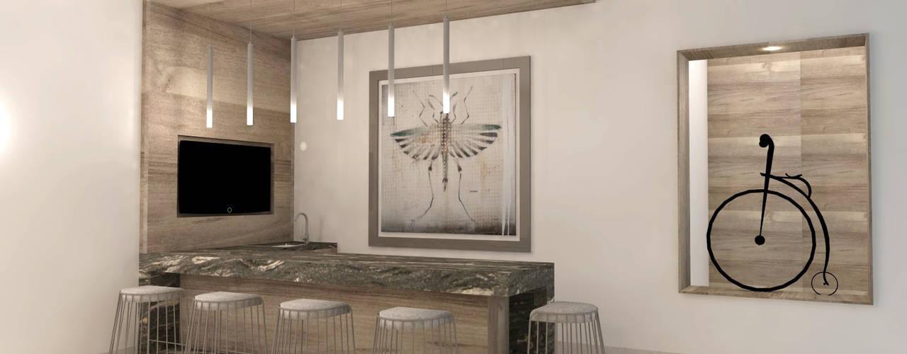 Modern Yemek Odası TAMEN arquitectura Modern