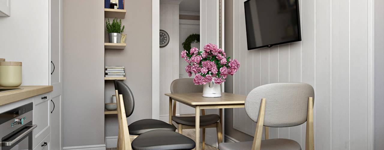 Scandinavian style dining room by homify Scandinavian