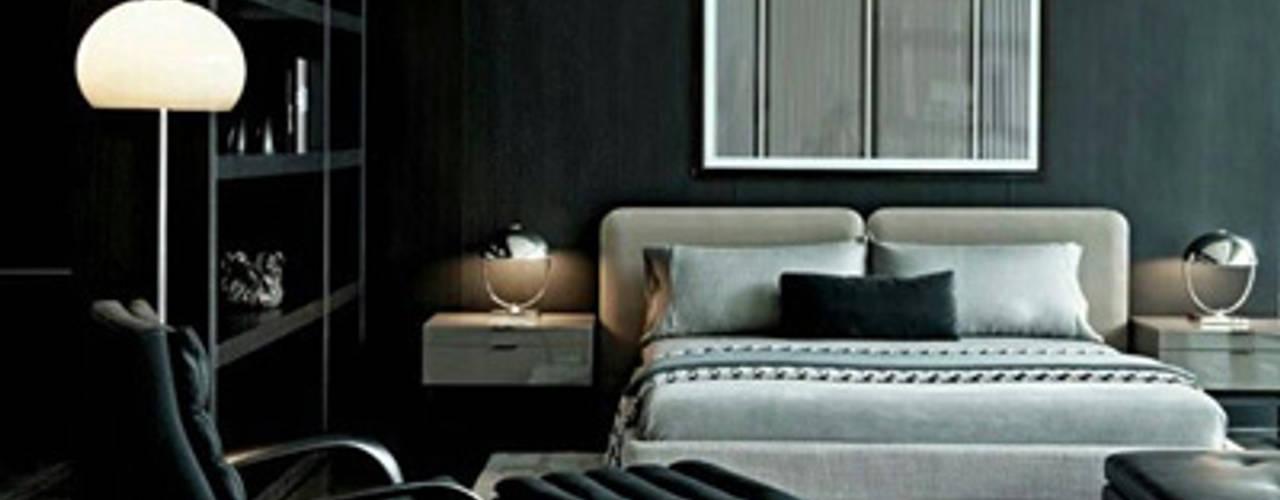Evinizde Gri Rengi Kullanmanın 7 Yolu Evinin Ustası Endüstriyel Yatak Odası