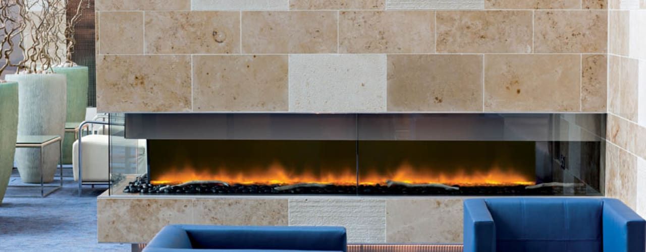 Electric Fires :  Living room by The Platonic Fireplace Company