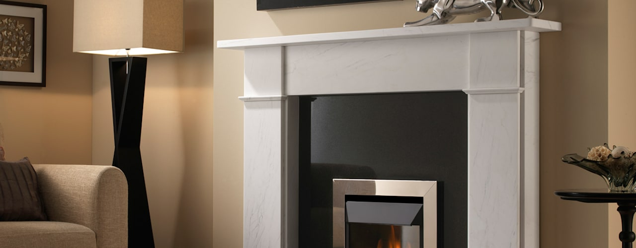 Superior Fires High Efficiency Gas Fires de Superior Fires Moderno