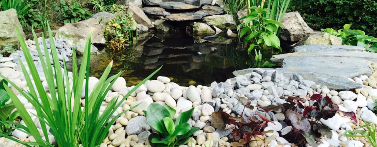 Water Feature Design:  Garden by Garden Ninja Ltd