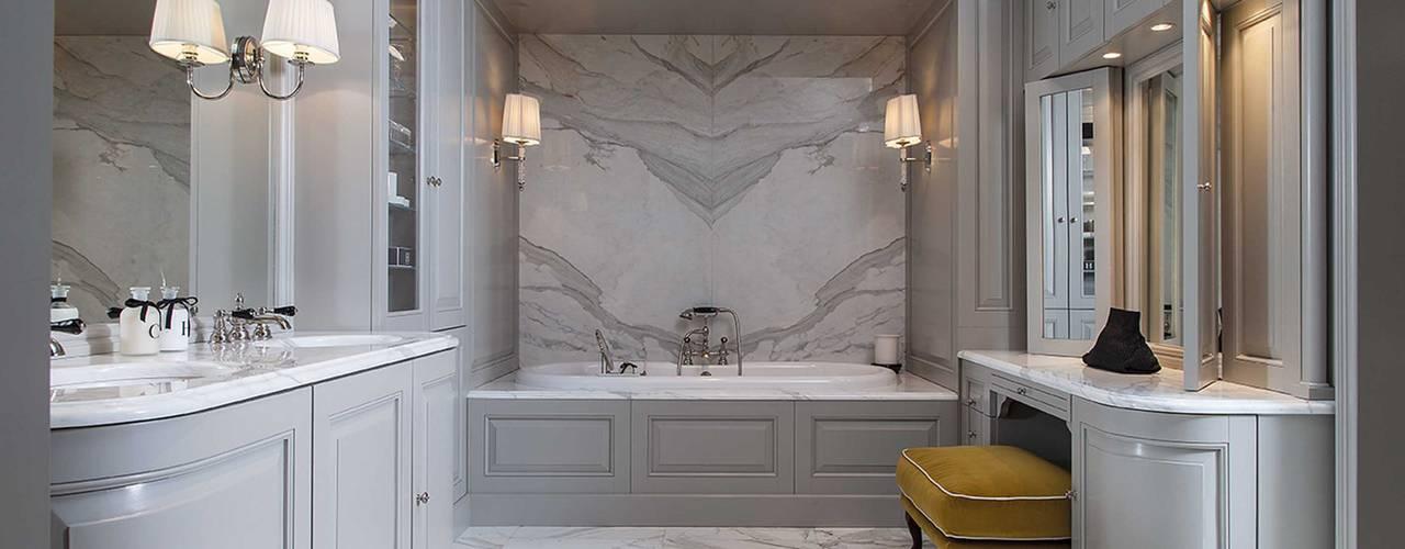 Bespoke design from the Bath Couture service:  Bathroom by Devon&Devon UK