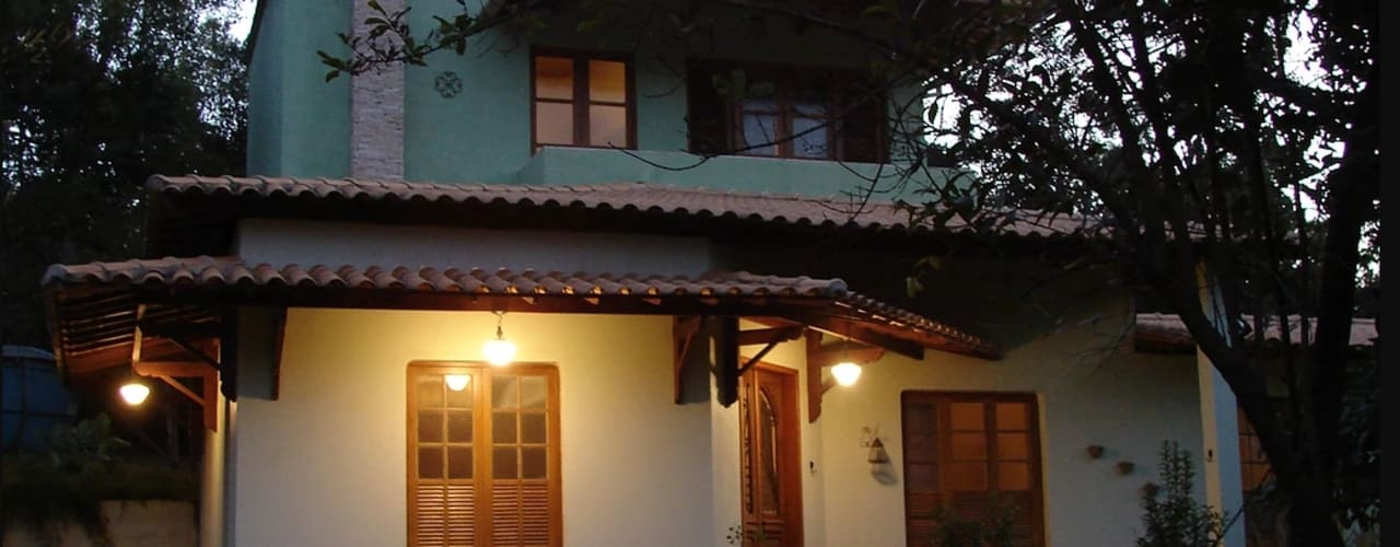 Casas de estilo  por Arquiteta Ana Paula Paiva