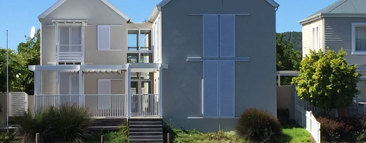 HOLIDAY HOME KNYSNA Colonial style house by Gallagher Lourens Architects Colonial