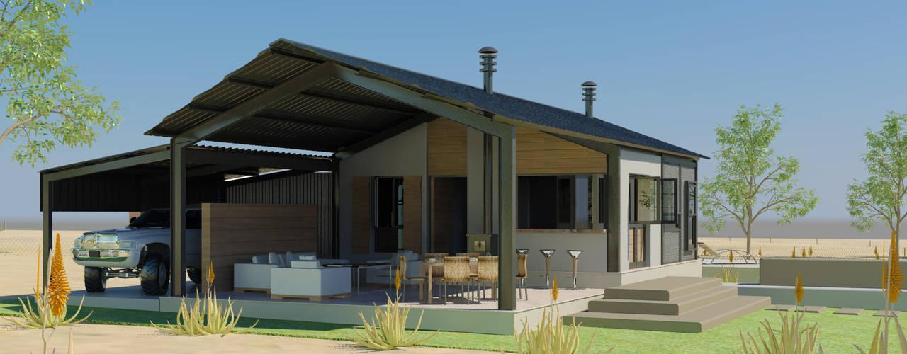 Projekty,  Domy zaprojektowane przez Edge Design Studio Architects