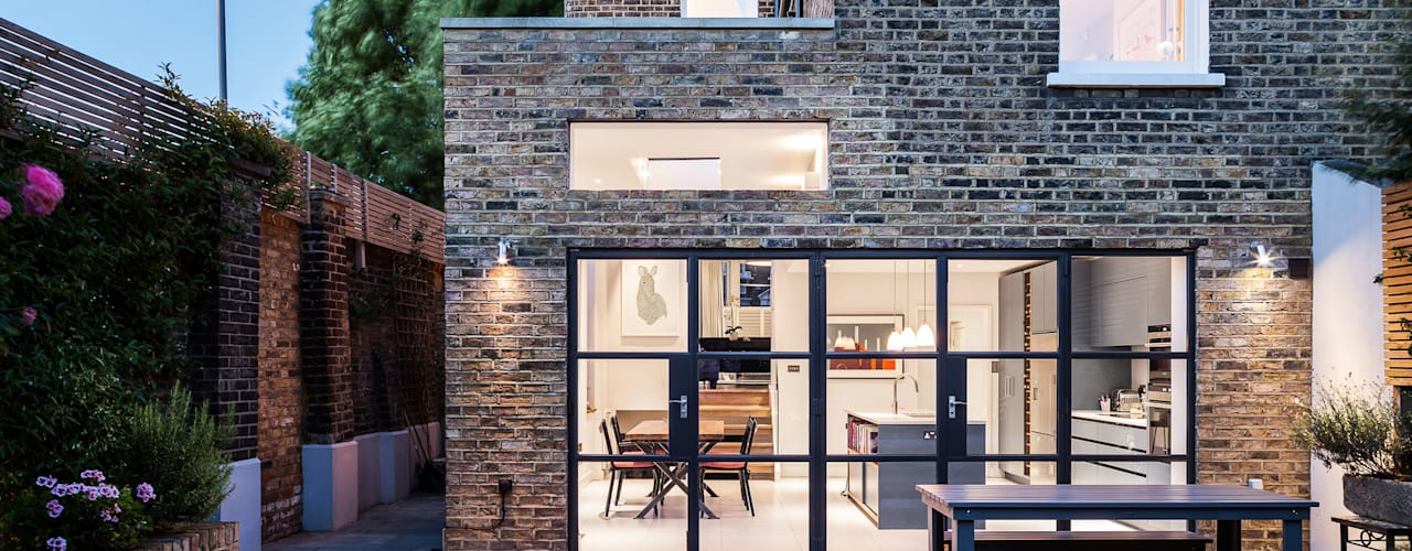 Slot House, London W12:  Houses by AU Architects