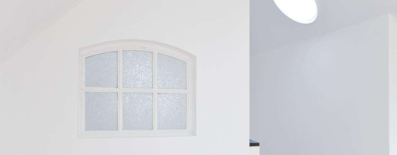 Dachgeschoss-Ausbau, Aurich baufactum Arbeitszimmer im Landhausstil