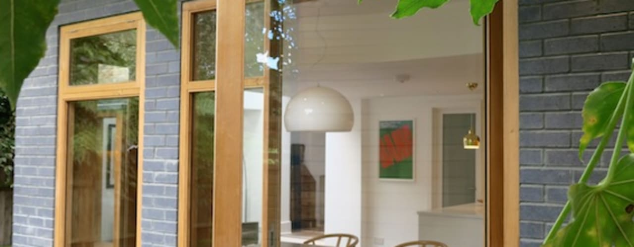 Canopy House - Stoke Newington, London A2studio Modern Windows and Doors Wood