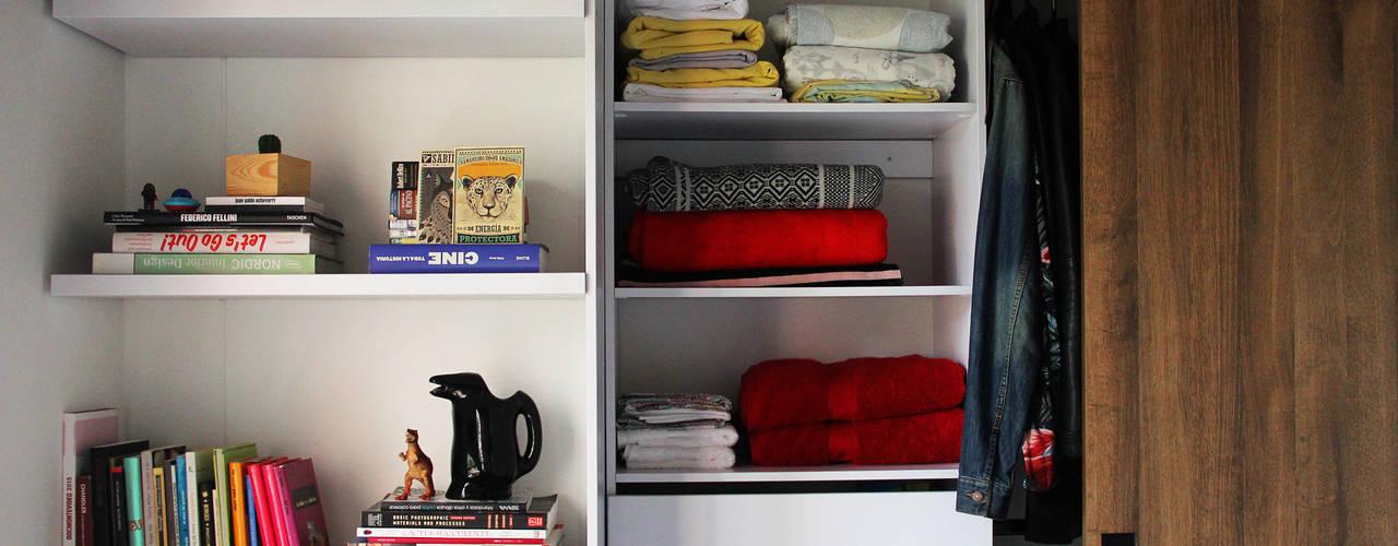 غرفة الملابس تنفيذ TRES52 - Mobiliario
