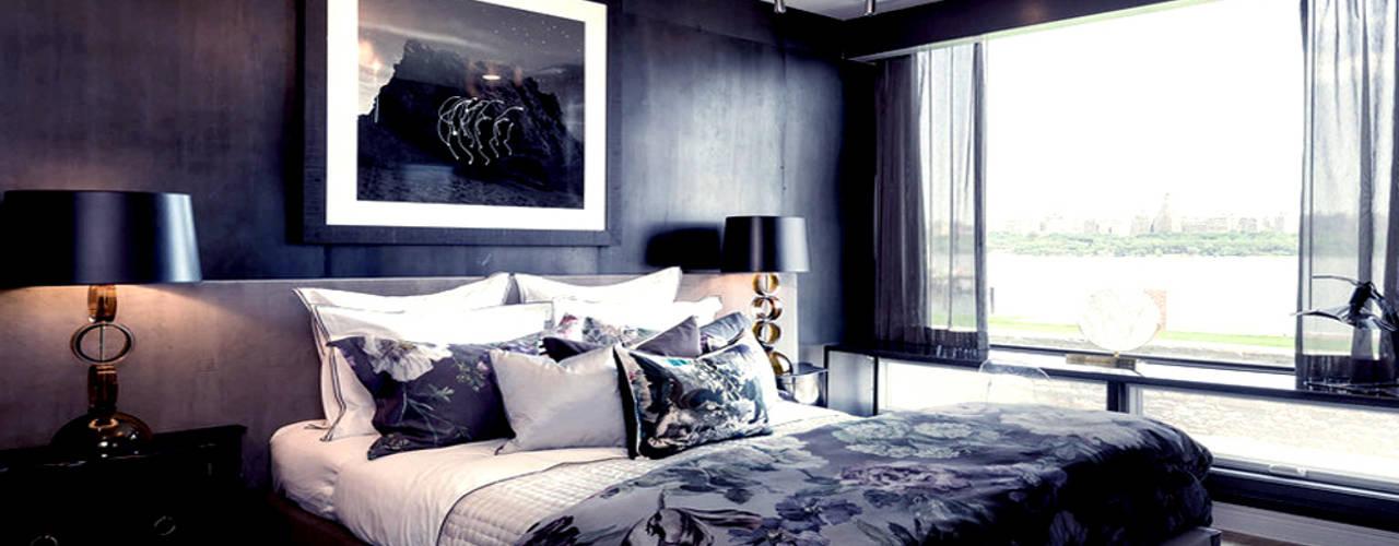 The Pearl:  Bedroom by Joe Ginsberg Design