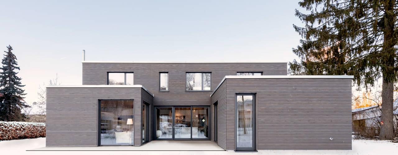 wohnhaus b Moderne Häuser von sebastian kolm architekturfotografie Modern