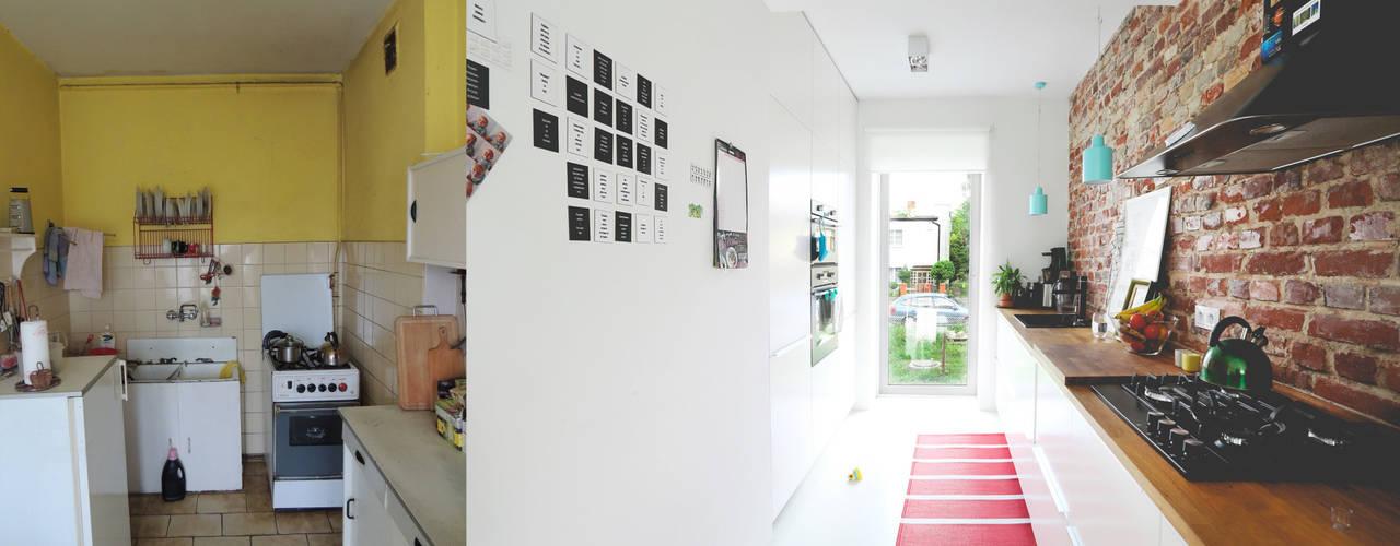 METAMORFOZA KUCHNI: styl , w kategorii  zaprojektowany przez NA NO WO ARCHITEKCI
