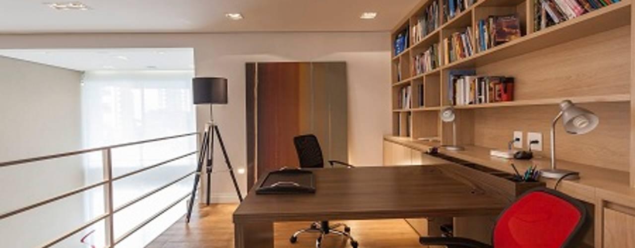 Study/office by Camila Giongo Arquitetas Associadas - Decoração de Interiores ME, Modern