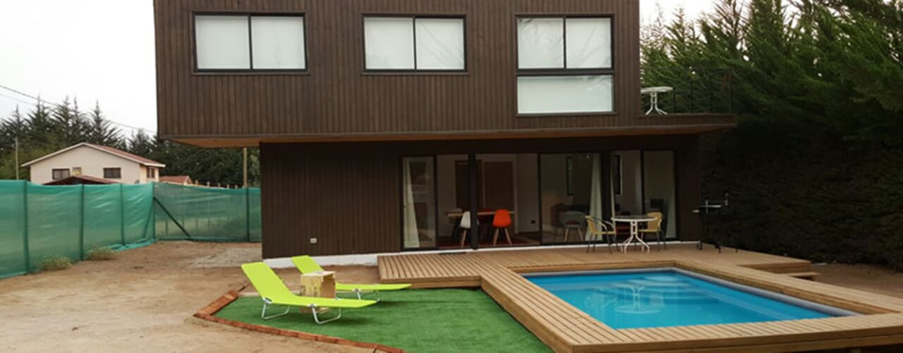 Casas de estilo  por Lares Arquitectura