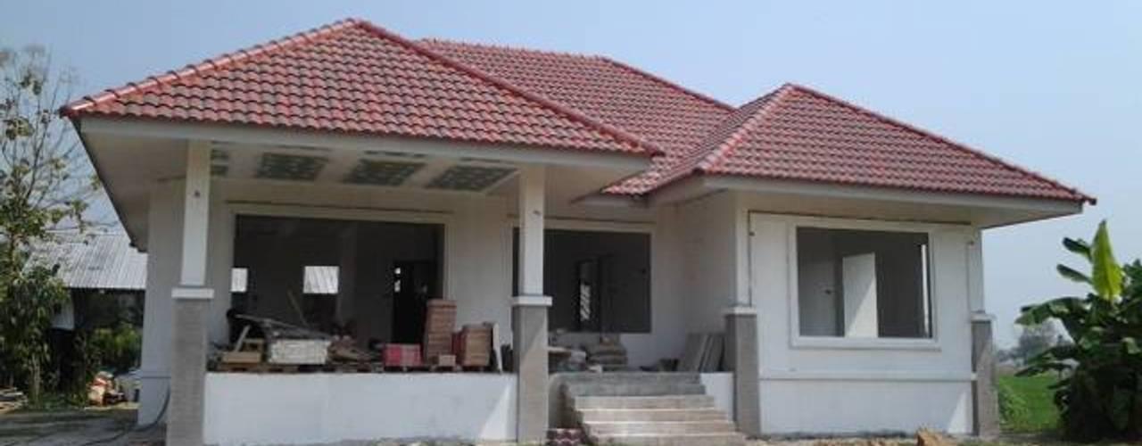 บ้านคุณวัชระ-คุณอุษณีย์ อ.ดอยสะเก็ด เชียงใหม่ โดย สำนักงานสถาปนิกดี