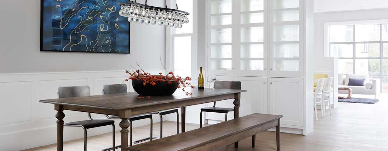 Noe Valley I:  Dining room by Feldman Architecture