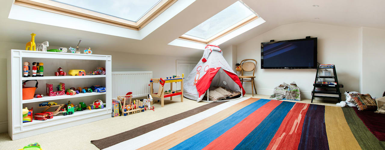 Nursery/kid's room by Orchestrate Design and Build Ltd.