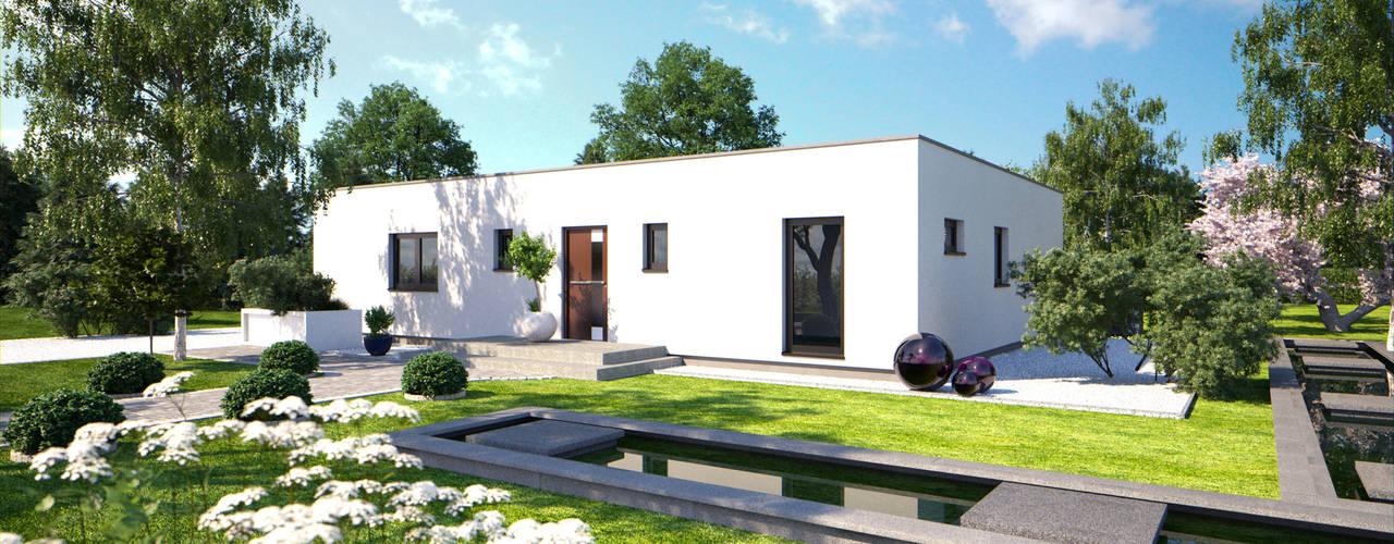โดย Bärenhaus GmbH - das fertige Haus โมเดิร์น