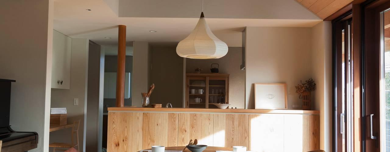 HOUSE IN CHIYOGAOKA: Mimasis Design/ミメイシス デザインが手掛けたホームジムです。,