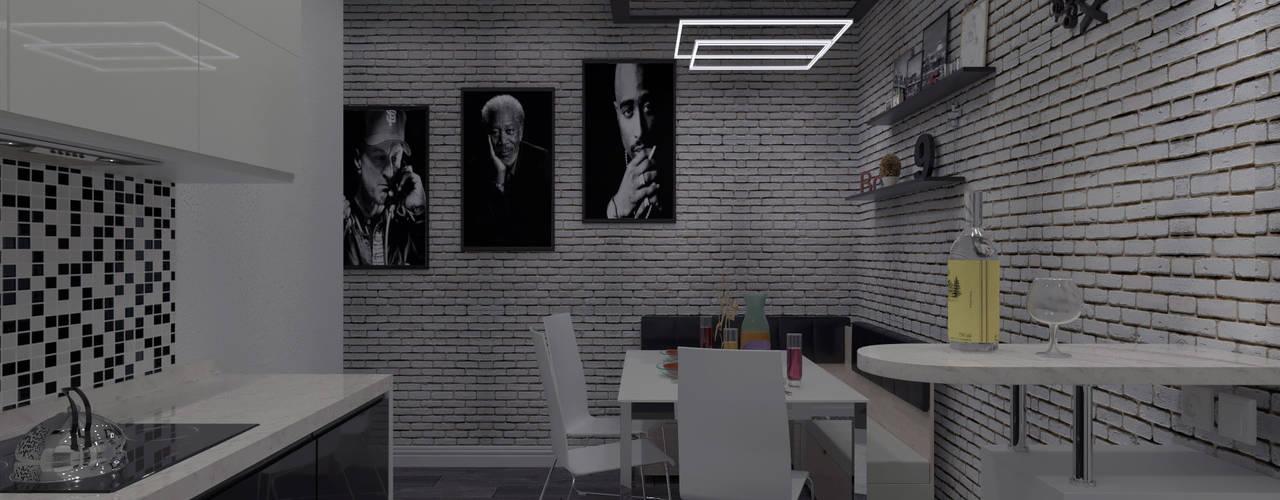 Дизайн-интерьера: Кухни в . Автор – СИРИУS Архитектурное бюро