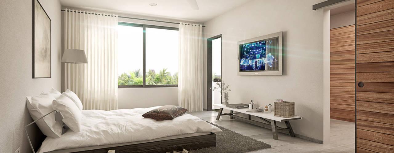 Taller Veinte Chambre minimaliste