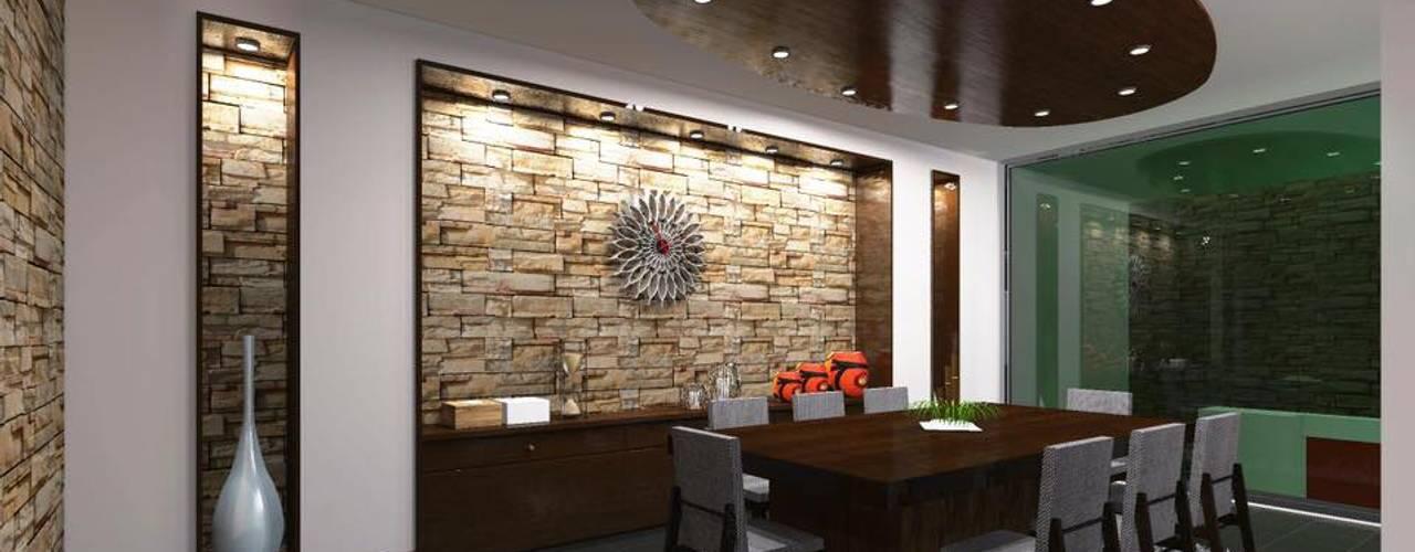 Comedores de estilo minimalista de HC Arquitecto Minimalista