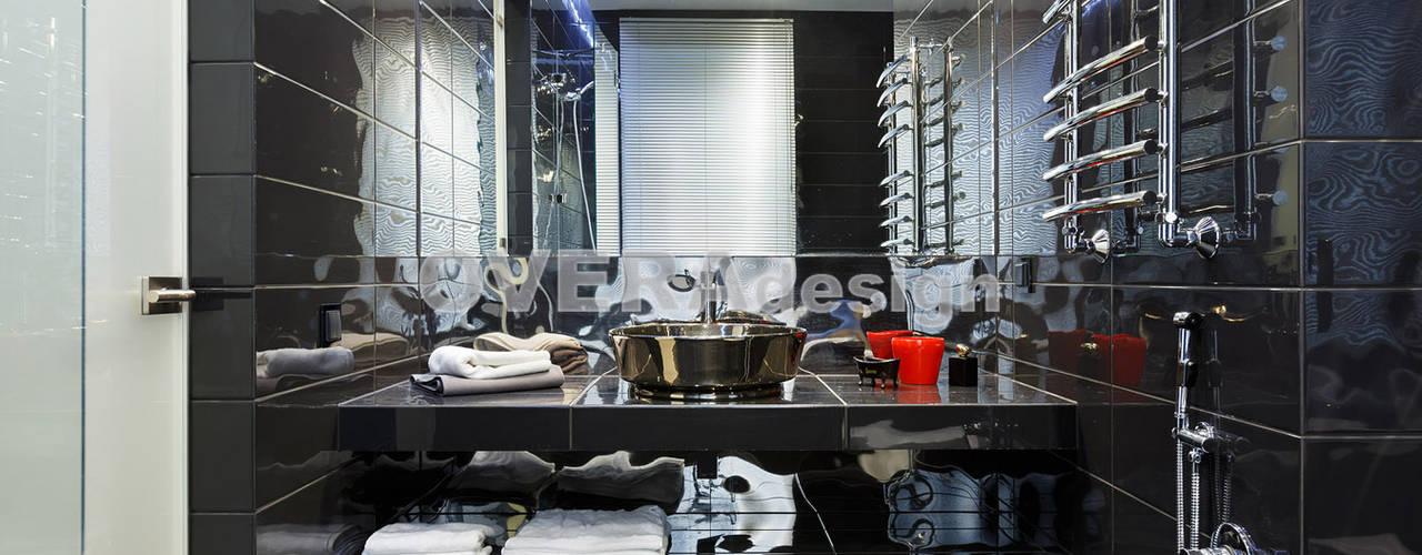 Реализованный проект Дома в стиле Лофт: Ванные комнаты в . Автор – Вера Откидач,