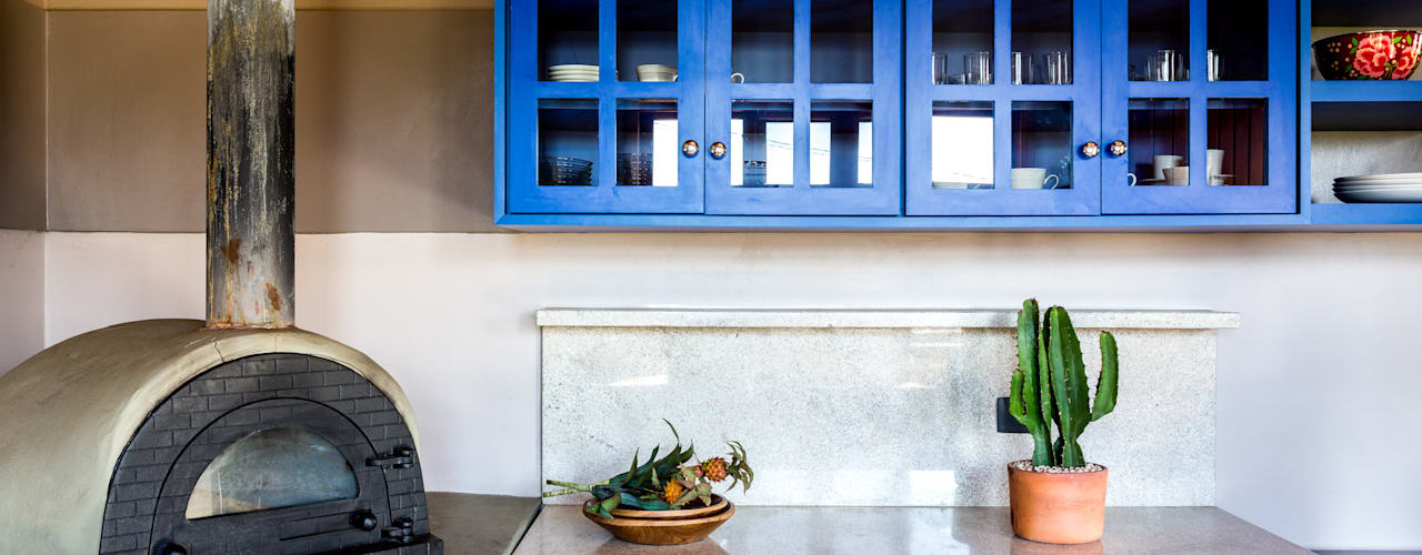 Cocinas de estilo rústico de ISLA ARQUITETURA, INTERIORES E DESIGN Rústico