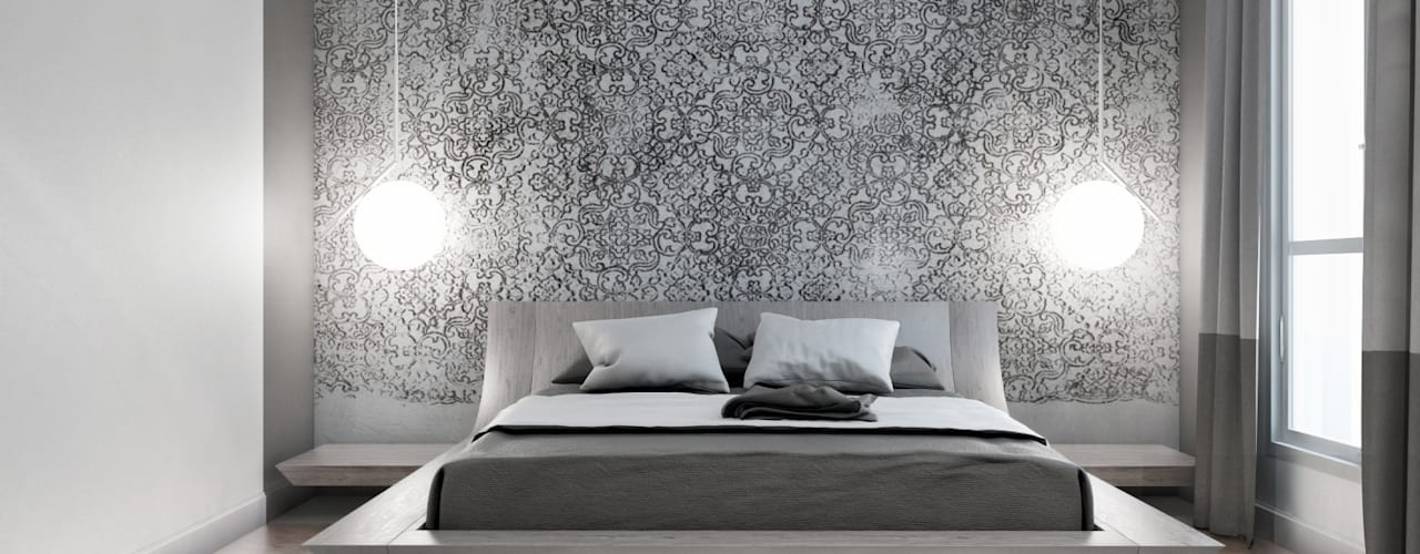 Projekty,  Sypialnia zaprojektowane przez  ElenKova architecture