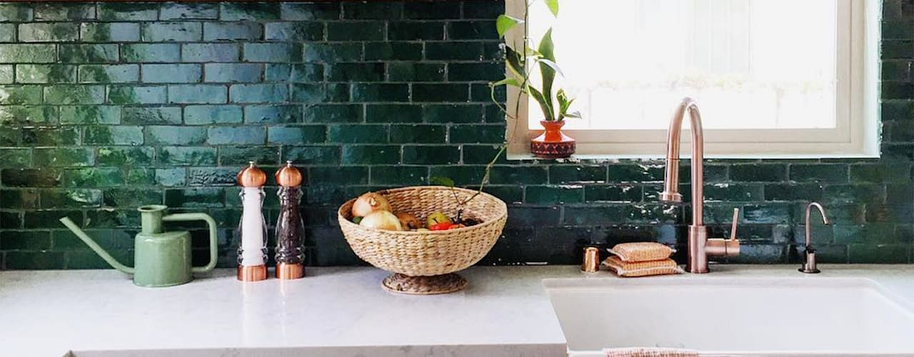 Nhà bếp phong cách nhiệt đới bởi Evinin Ustası Nhiệt đới