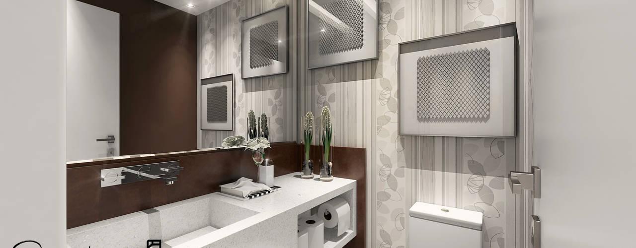 APA RM: Banheiros  por Rodrigo Kamimura - Arquitetura e Design,