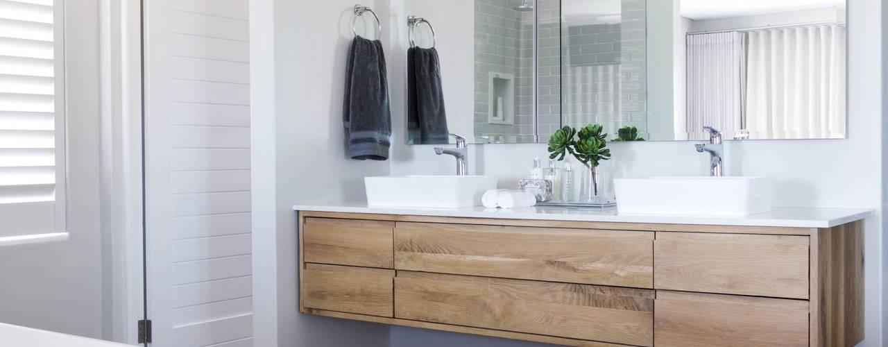 Ванные комнаты в . Автор – Salomé Knijnenburg Interiors, Модерн