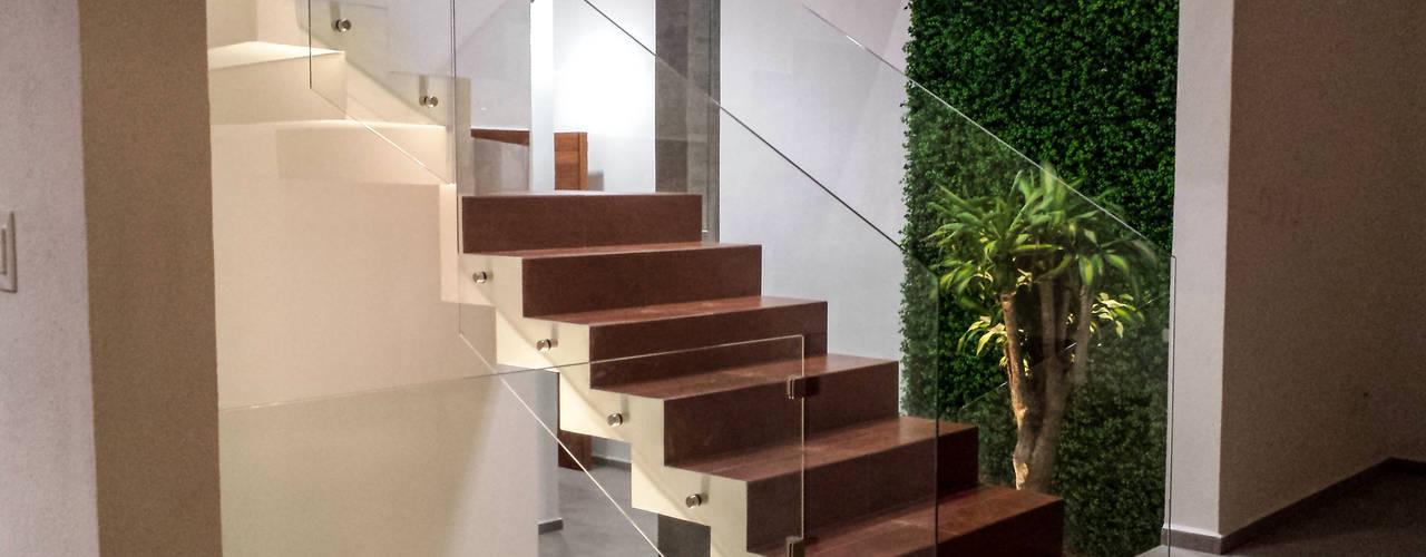 Minimalist Koridor, Hol & Merdivenler Estilo Homes Minimalist