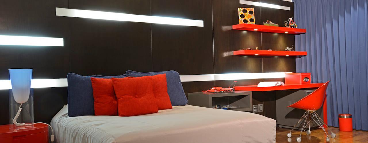 Residencia Valle Real Dormitorios modernos de Spacio Moderno