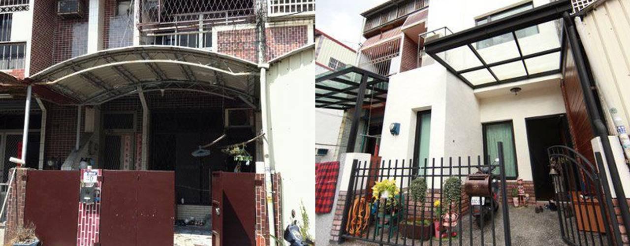 Casas de estilo rural de 七輪空間設計 Rural