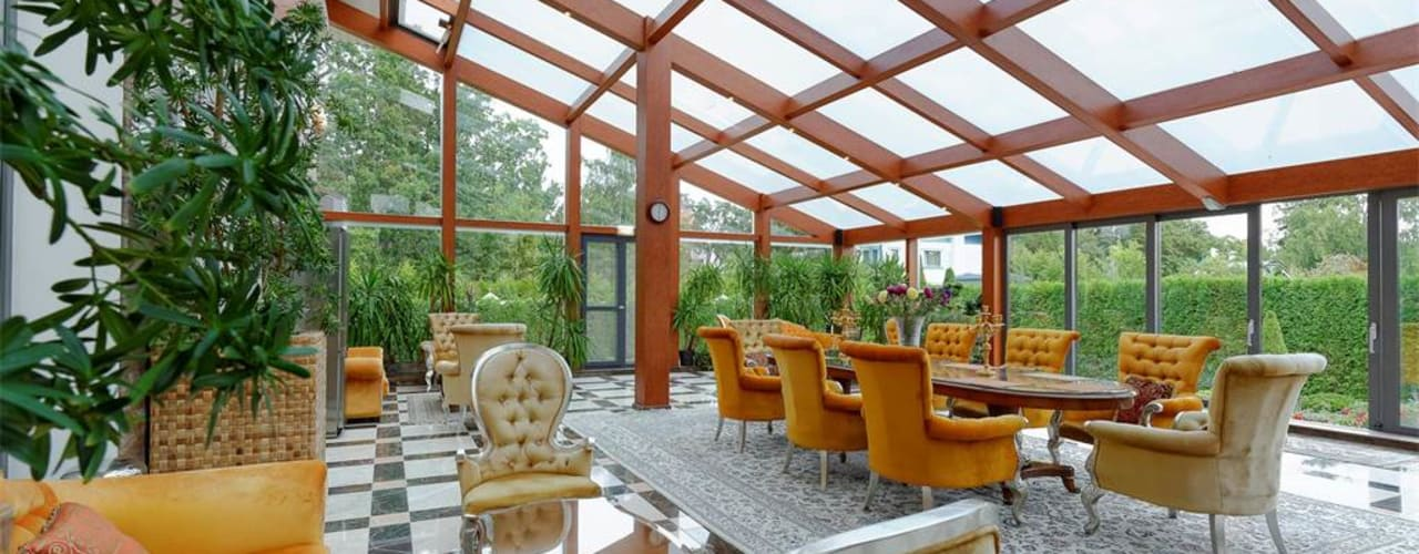 Jardines de invierno de estilo clásico de Inan AYDOGAN /IA Interior Design Office Clásico