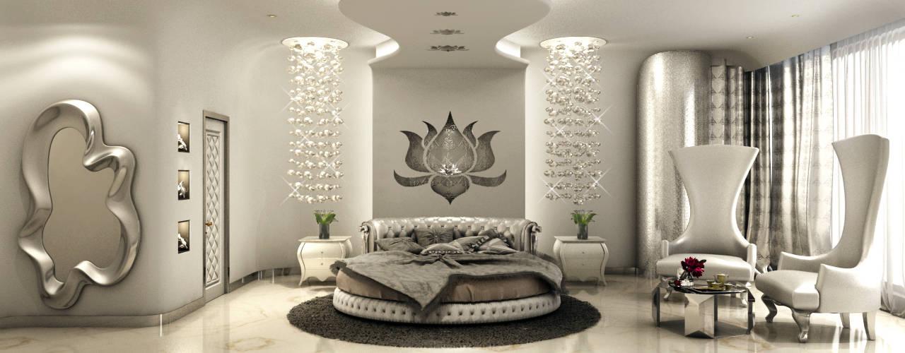 Serene Bedroom: classic Bedroom by AAMRAPALI BHOGLE